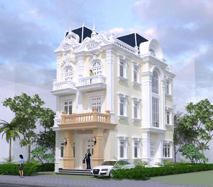 Gợi ý những mẫu biệt thự đẹp 3 tầng xứng đáng xây dựng nhất 2018