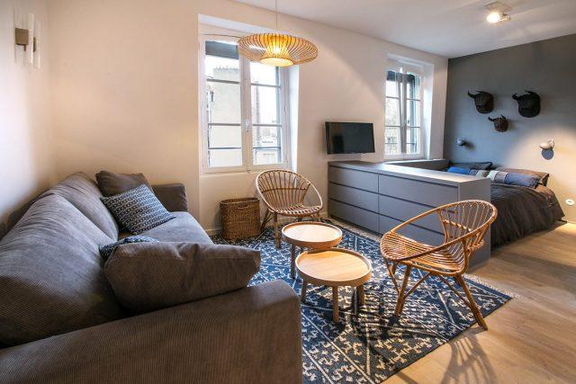 gợi ý thiết kế căn hộ diện tích nhỏ đầy đủ công năng 2