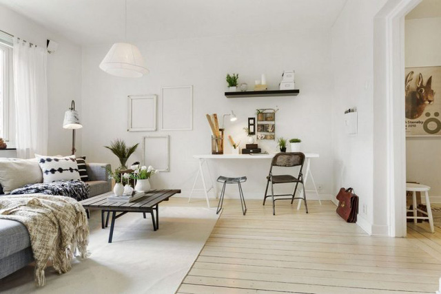gợi ý thiết kế căn hộ diện tích nhỏ đầy đủ công năng 12