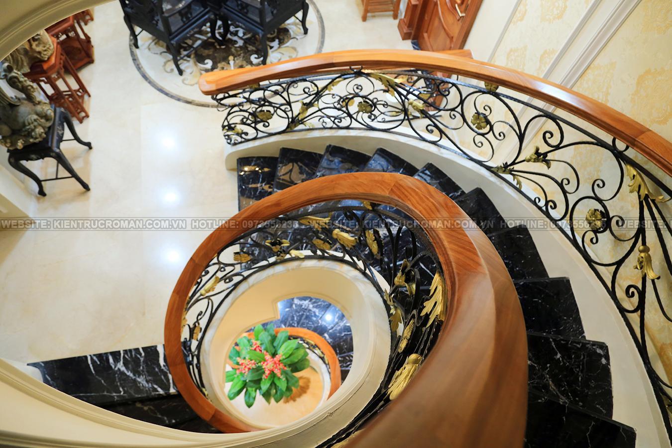 hoàn thành thi công mẫu biệt thự đẹp 3 tầng 25