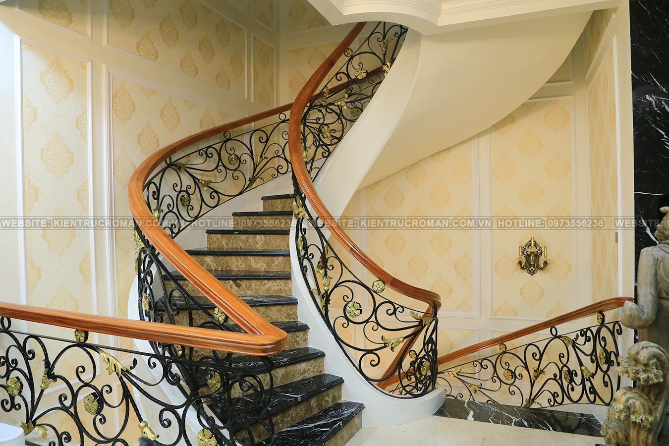 hoàn thành thi công mẫu biệt thự đẹp 3 tầng 26