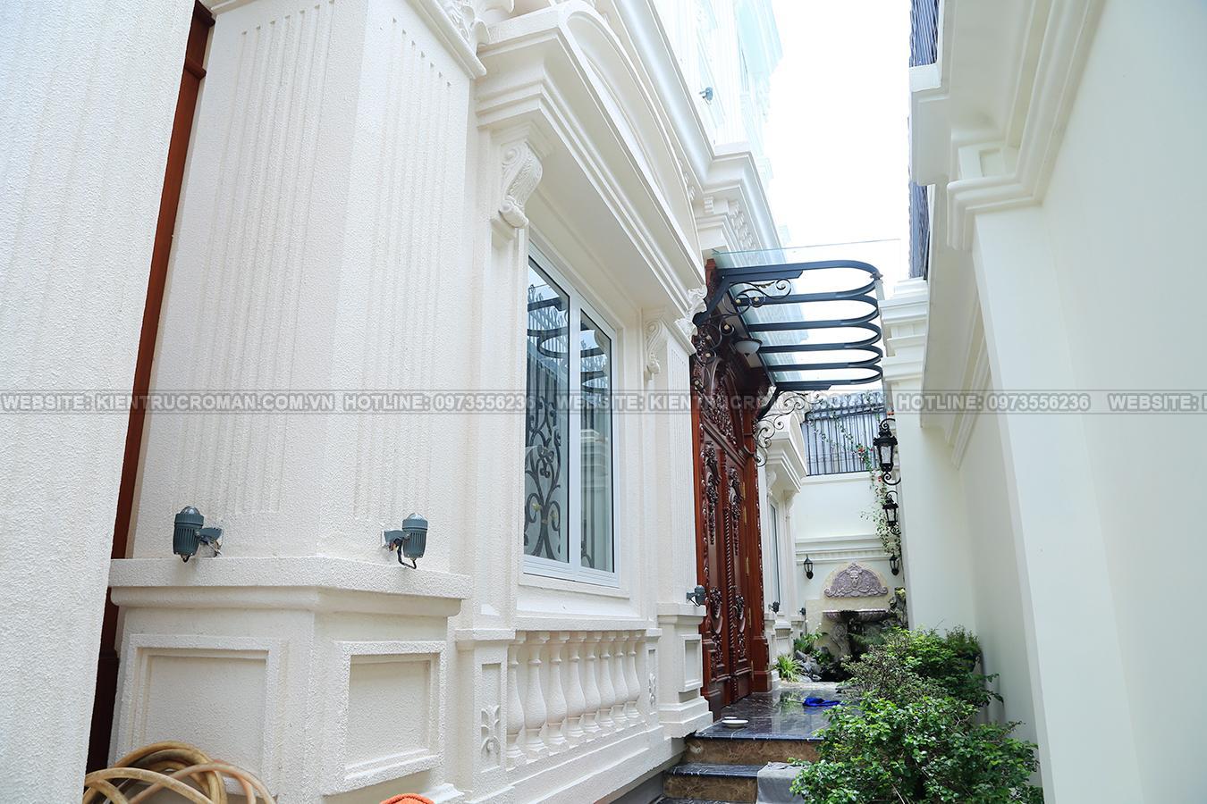 hoàn thành thi công mẫu biệt thự đẹp 3 tầng 6