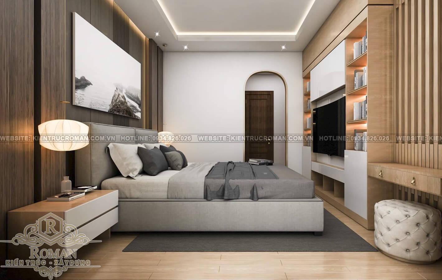 hoàn thiện nội thất nhà phố thiết kế