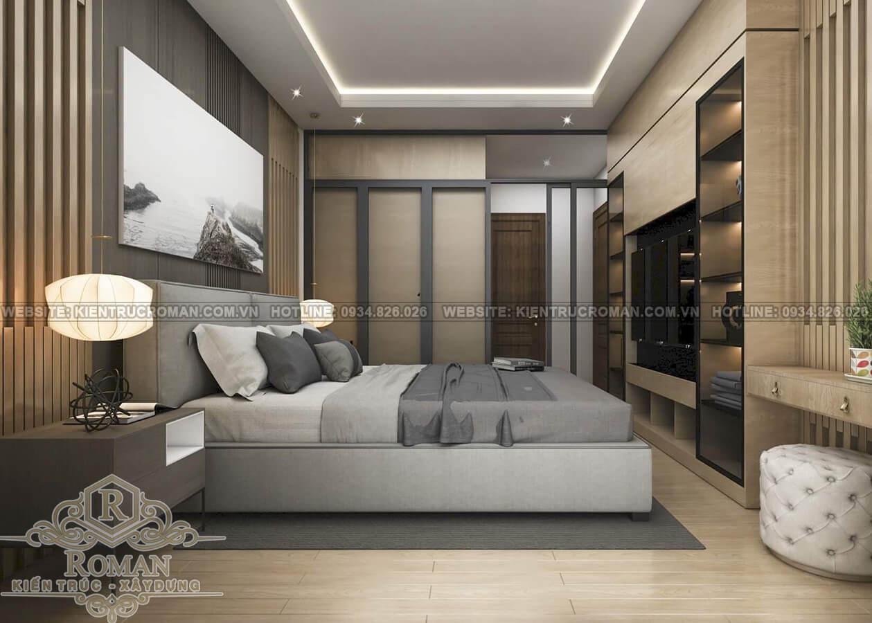 hoàn thiện nội thất nhà phố phòng ngủ