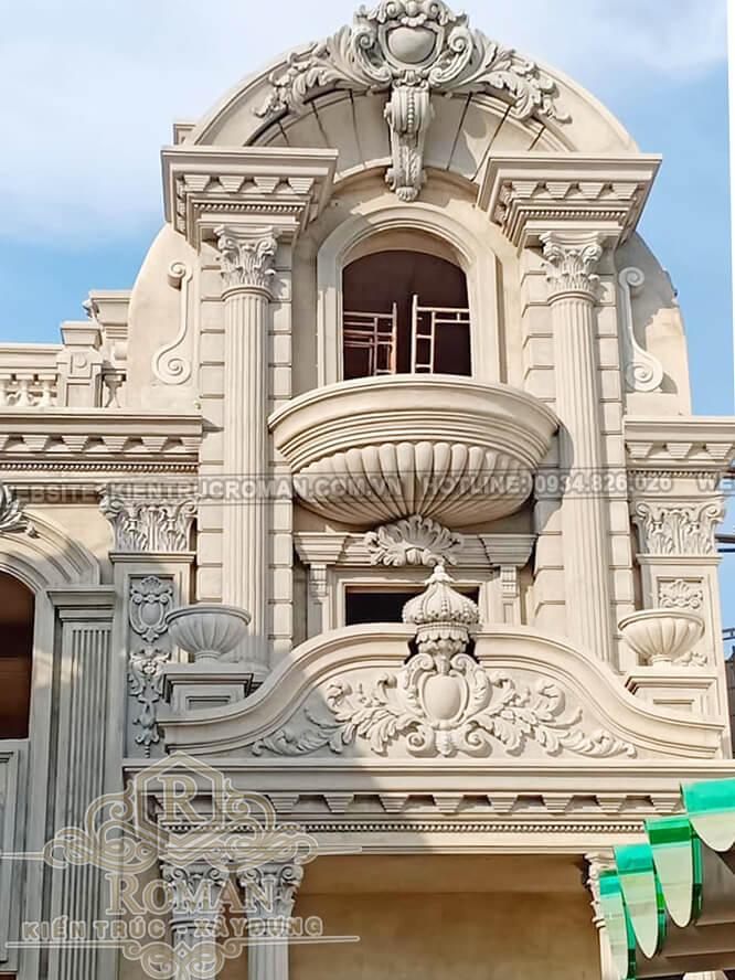 kiến trúc biệt thự Pháp