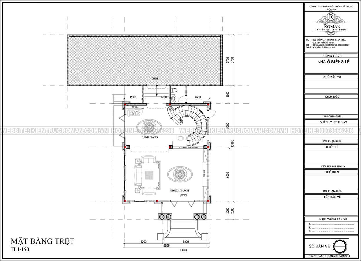kiến trúc biệt thự pháp 6