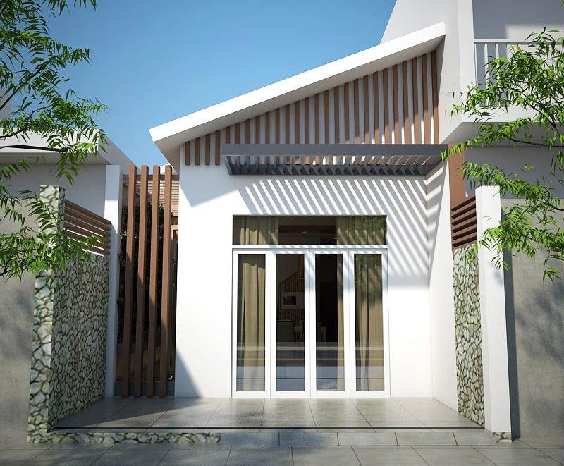 kiến trúc nhà 400 triệu 10
