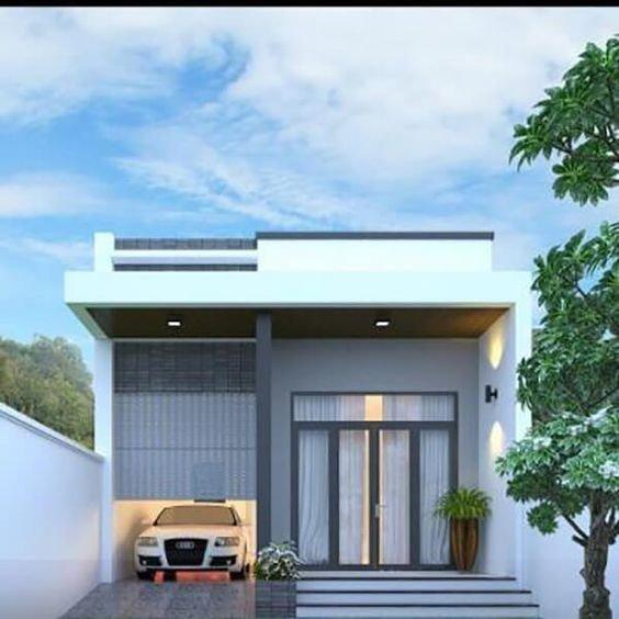 kiến trúc nhà 400 triệu 13