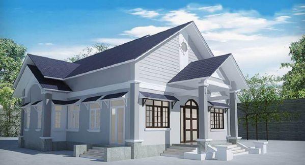 kiến trúc nhà 400 triệu 17