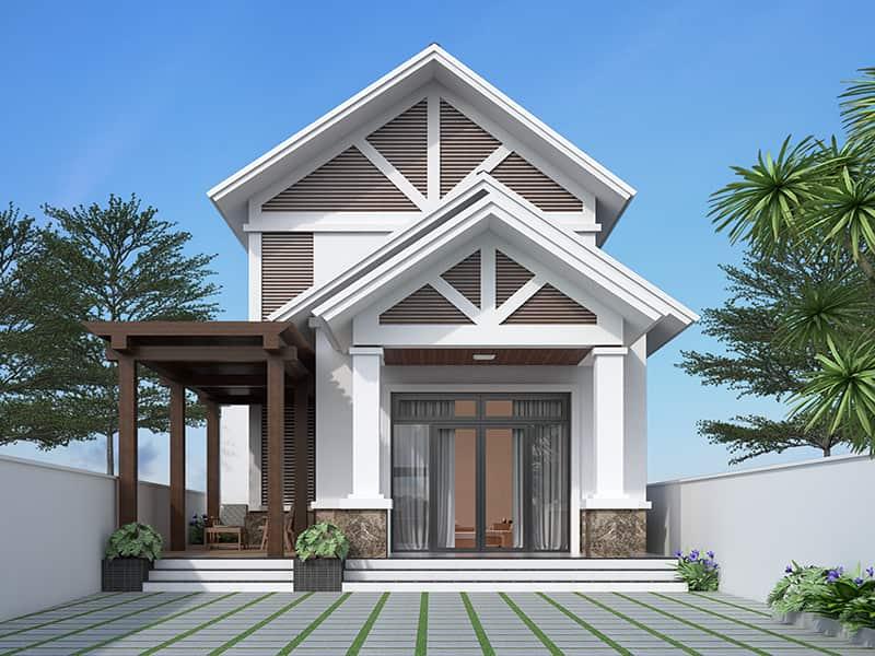 kiến trúc nhà 400 triệu18