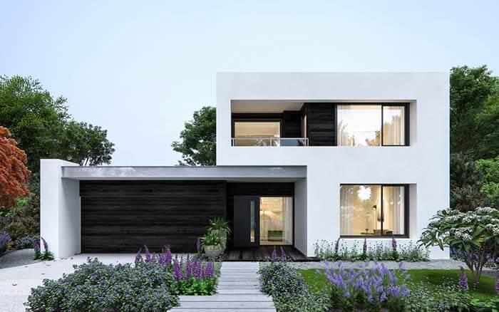 kiến trúc nhà đẹp 2 tầng 3