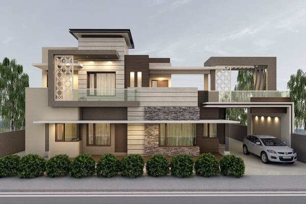 kiến trúc nhà đẹp 2 tầng 8