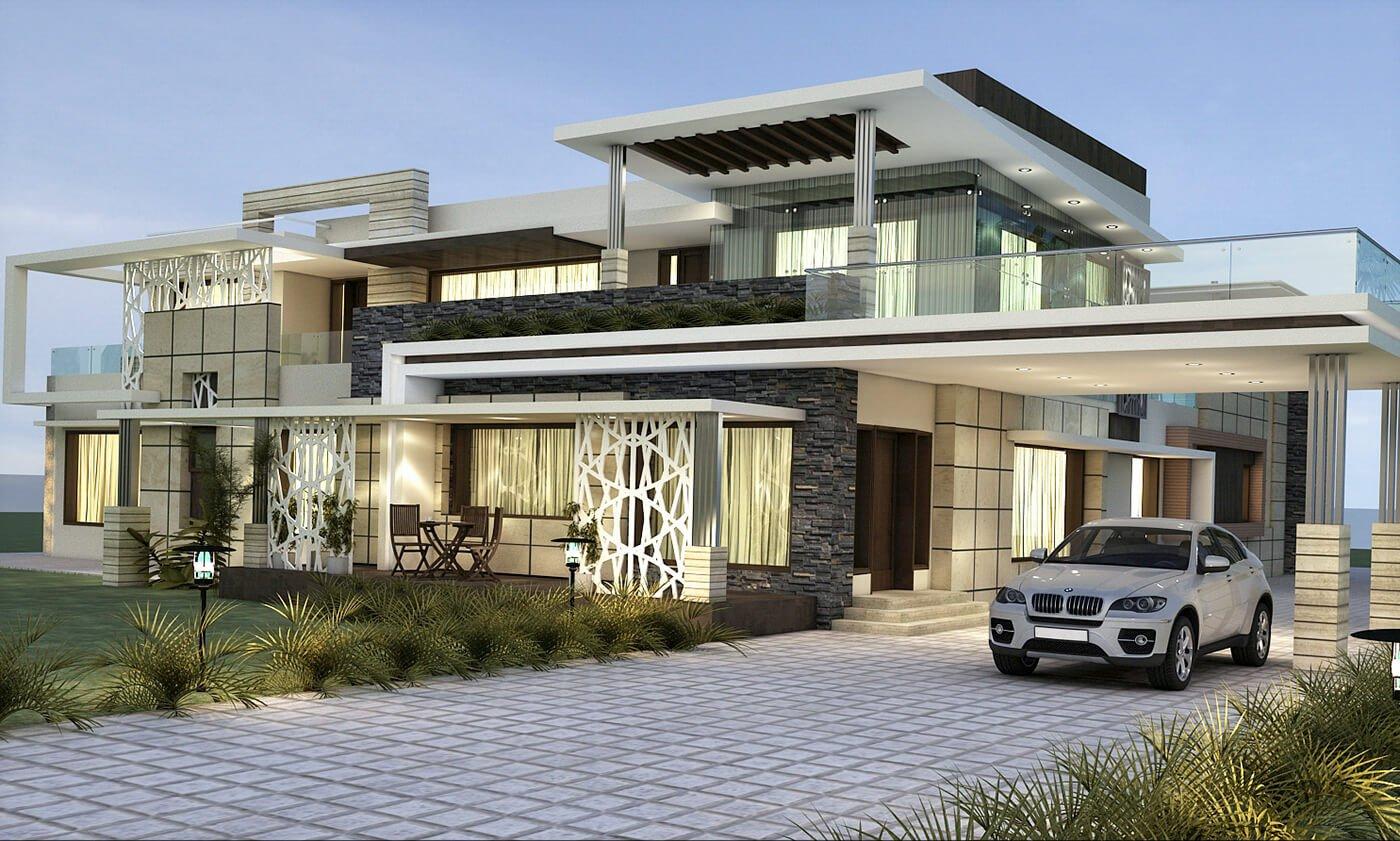 kiến trúc nhà đẹp 2 tầng 9