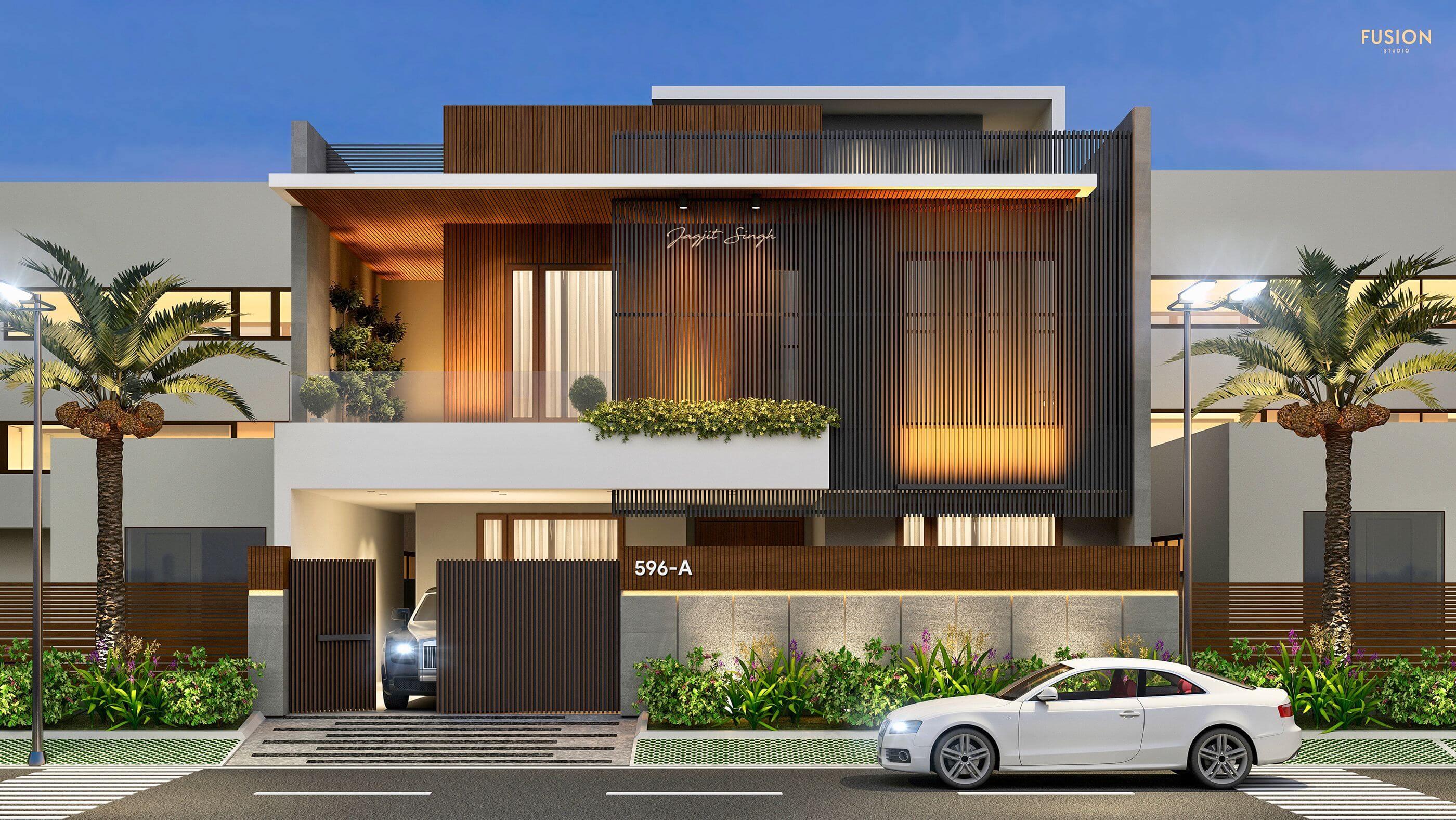 kiến trúc nhà đẹp 2 tầng 11