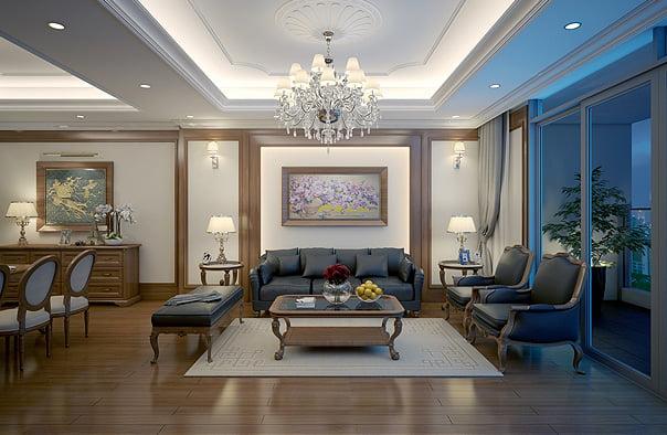 kinh nghiệm thuê thiết kế nội thất chung cư 2