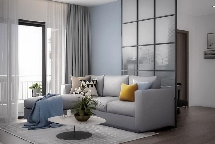 Mãn nhẵn với mẫu thiết kế nội thất chung cư hiện đại tinh tế