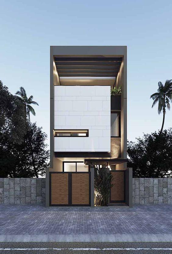mẫu nhà phố mặt tiền 5m 3 tầng 1