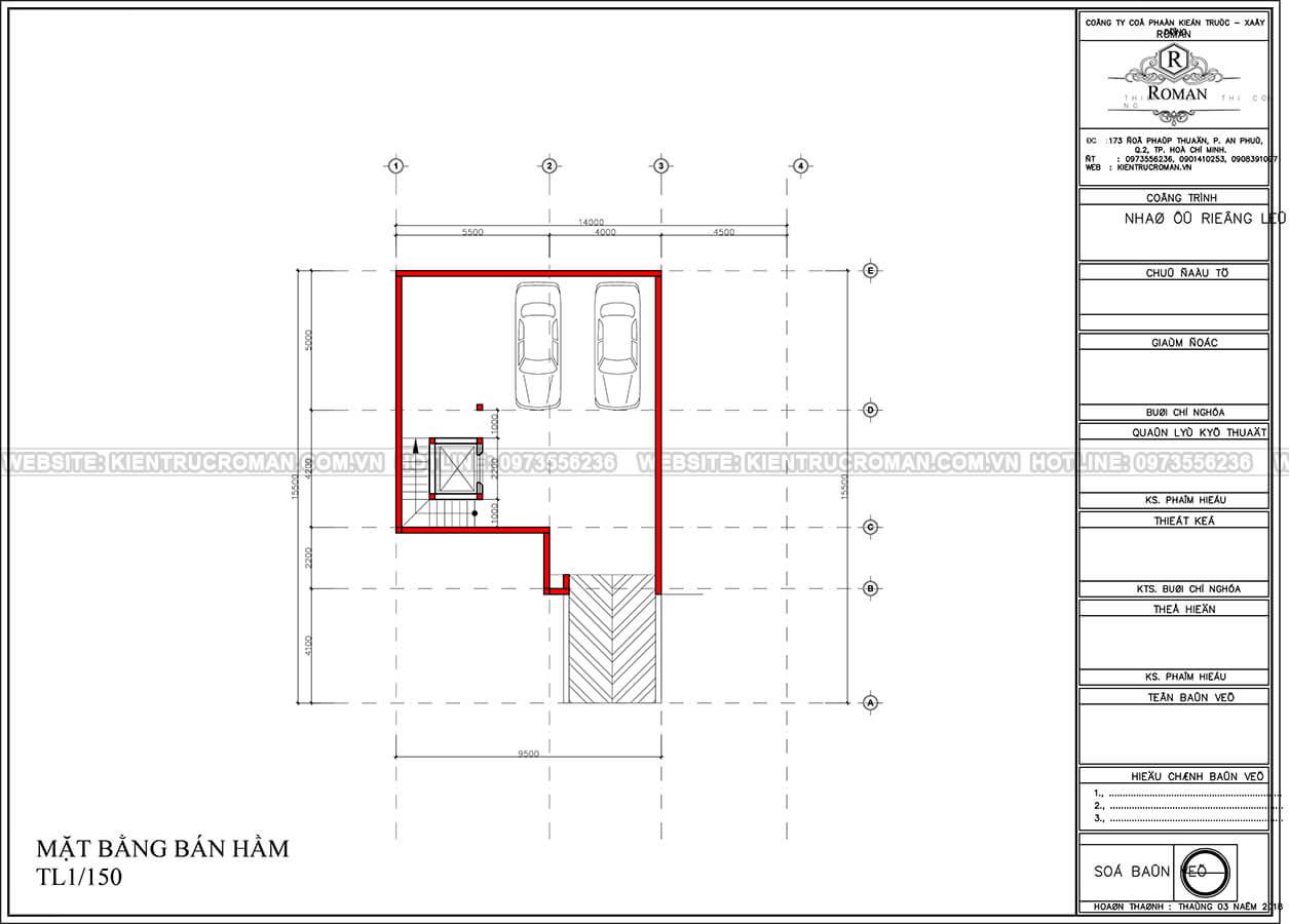 mẫu biệt thự 3 tầng hiện đại 16