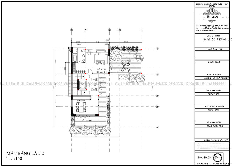 mẫu biệt thự 3 tầng hiện đại 19