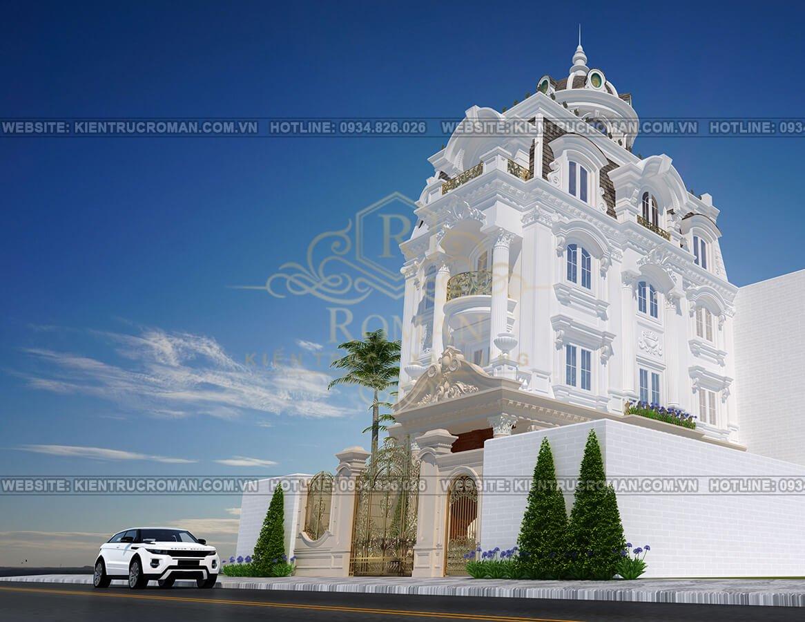 mẫu biệt thự nhà đẹp 3 tầng