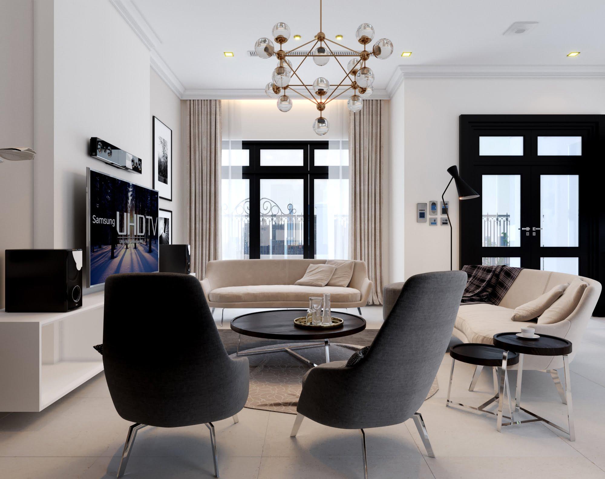 mẫu biệt thự mni 2 tầng hiện đại đẹp 5