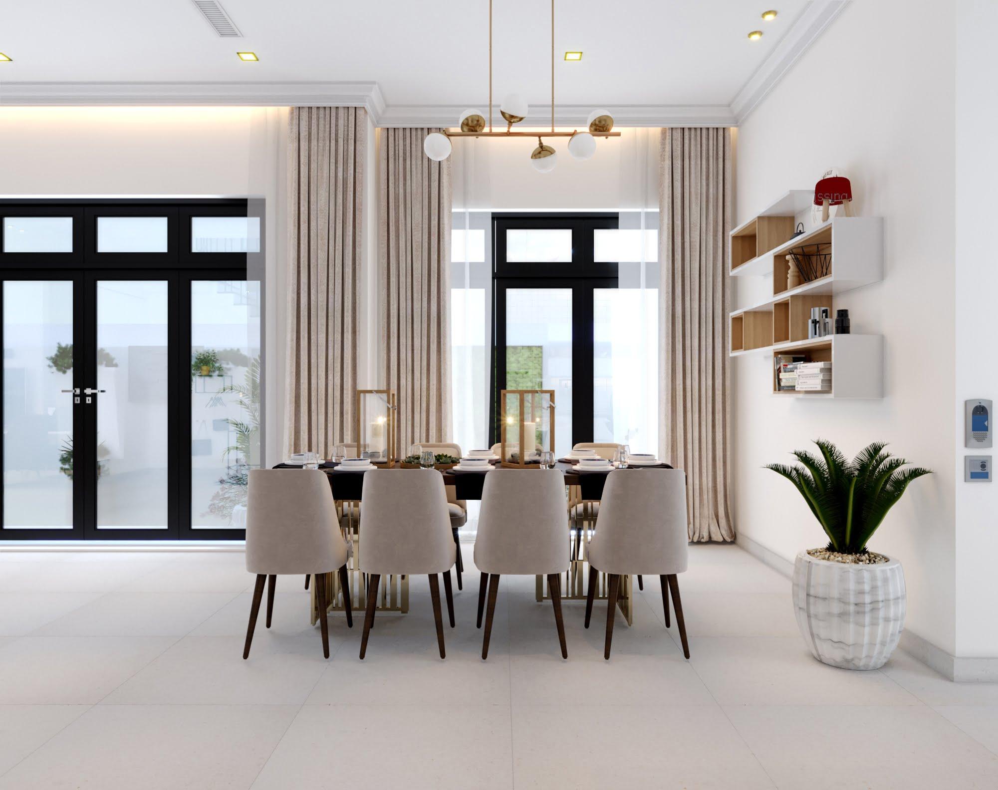 mẫu biệt thự mni 2 tầng hiện đại đẹp 8