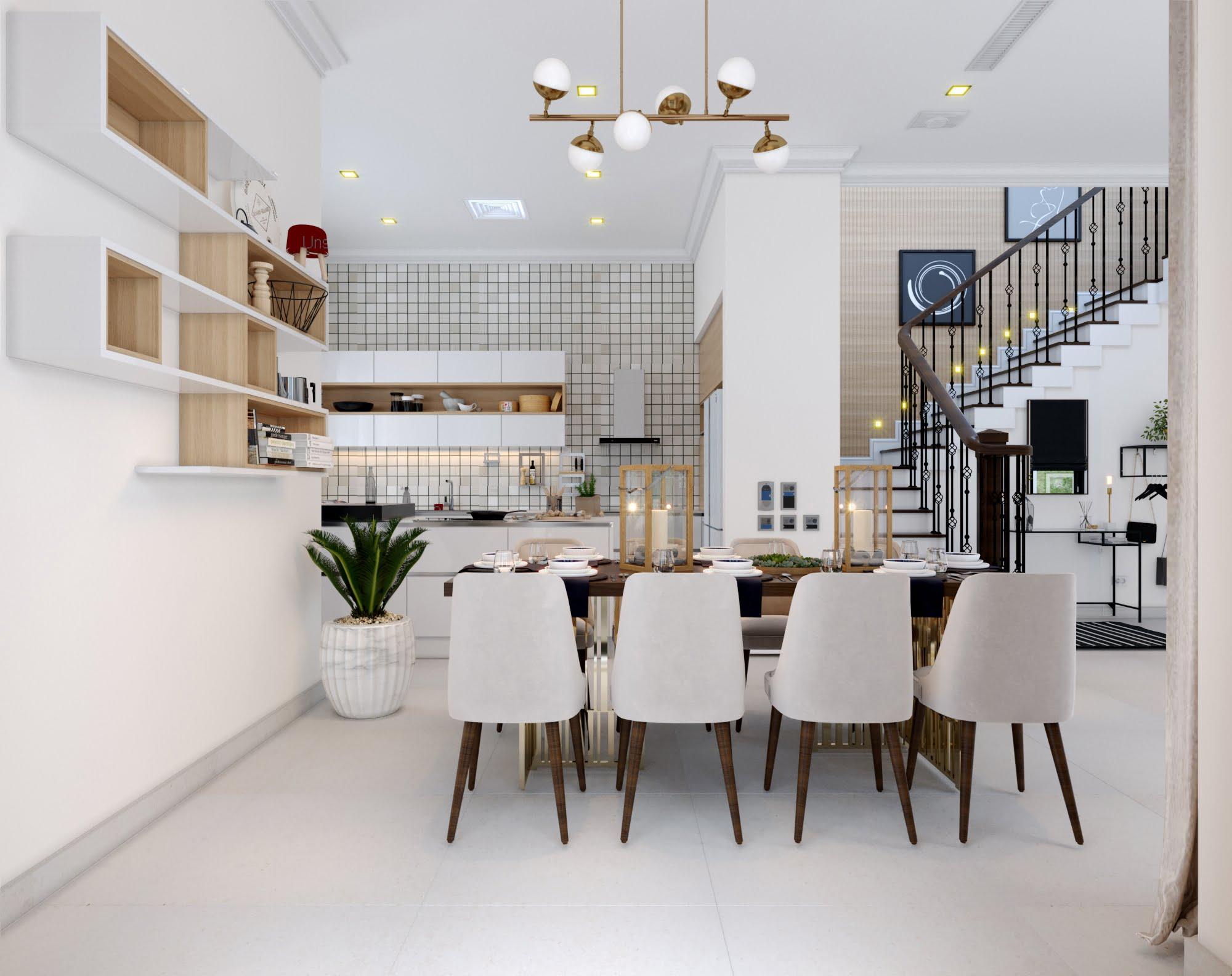 mẫu biệt thự mni 2 tầng hiện đại đẹp 9