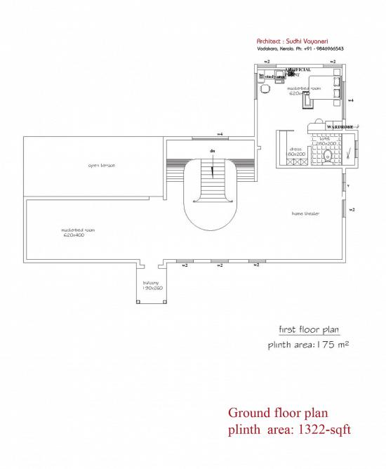 mẫu biệt thự tân cổ điển 2 tầng