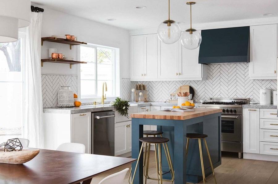 bếp và phòng ăn thiết kế nhà vườn 1 tầng 4 phòng ngủ