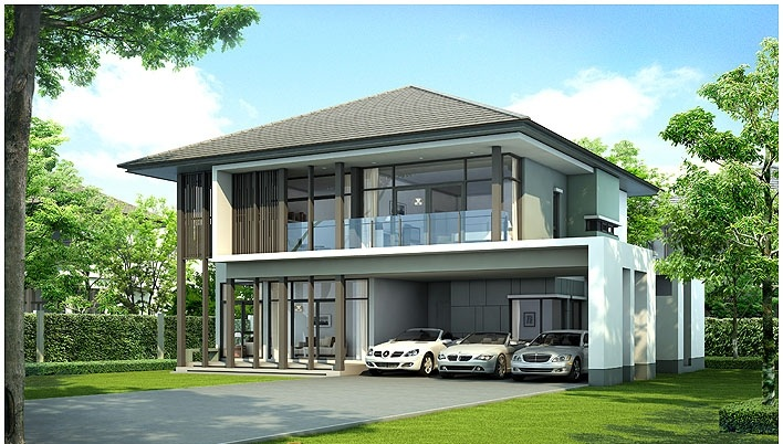 mẫu thiết kế biệt thự vườn 2 tầng đẹp mới nhất 14
