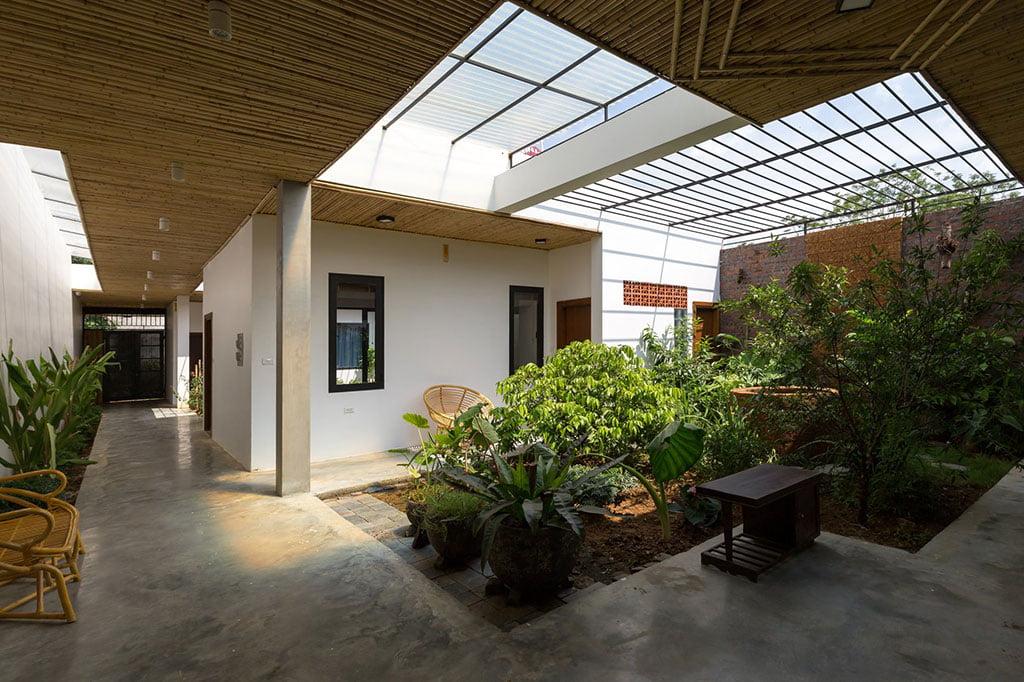 Mẫu biệt thự vườn đẹp hiện đại cảm hứng từ thiên nhiên