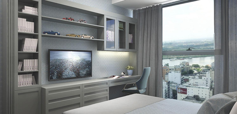Mẫu căn hộ chung cư tân cổ điển đẹp say đắm lòng người