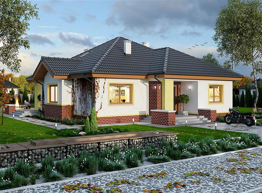 mẫu nhà 1 tầng đơn giản đẹp 11