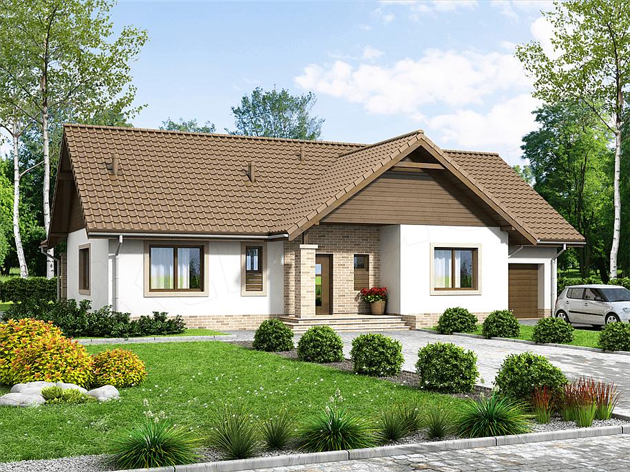 mẫu nhà 1 tầng đơn giản đẹp 15