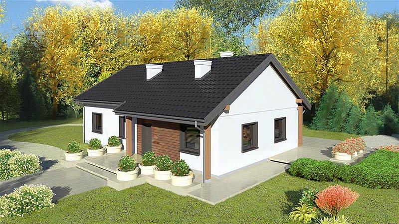 mẫu nhà 1 tầng đơn giản đẹp 16