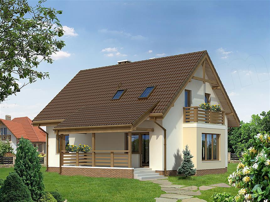 mẫu nhà 1 tầng đơn giản đẹp 27