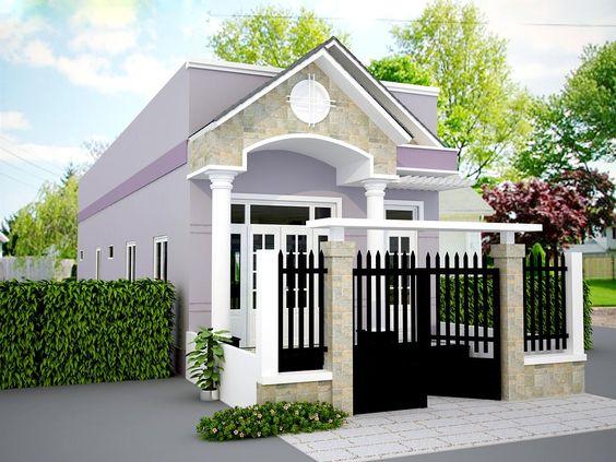 mẫu nhà 1 tầng đơn giản đẹp 5