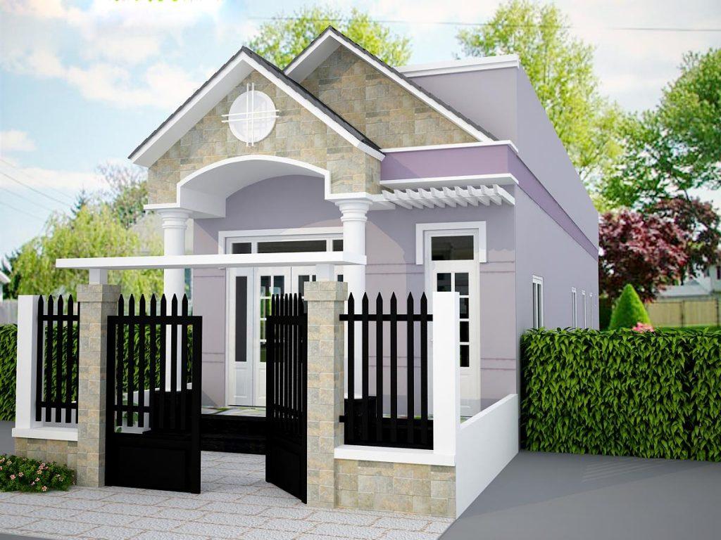 mẫu nhà 1 tầng đơn giản đẹp 6