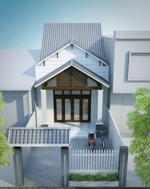 mẫu nhà 1 tầng đơn giản đẹp 7