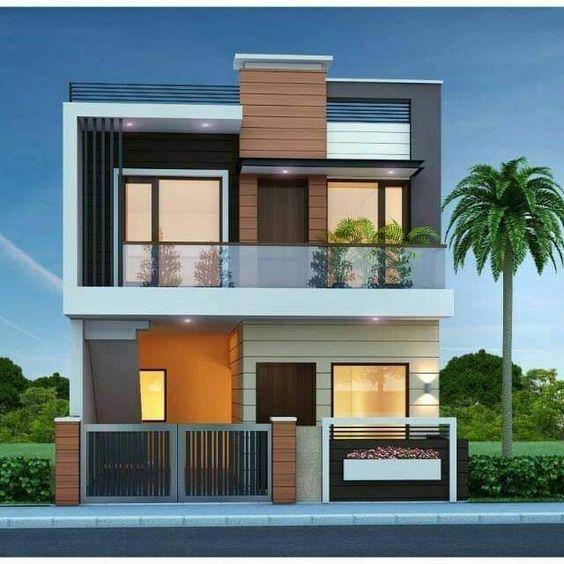 mẫu nhà 2 tầng 8x10m 6