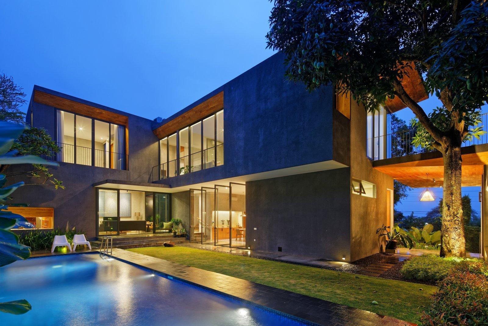 Các mẫu nhà đẹp 2 tầng hiện đại 14