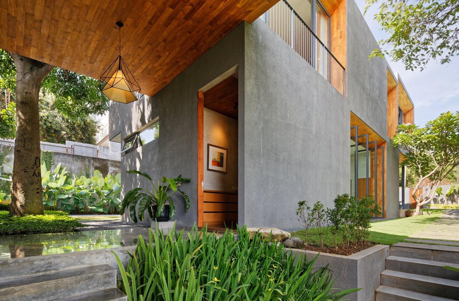 Các mẫu nhà đẹp 2 tầng hiện đại 16