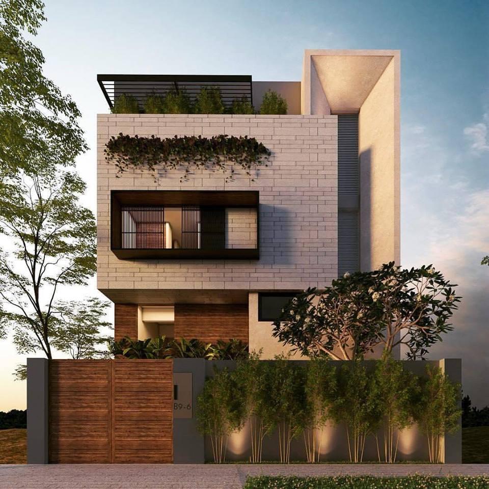 Các mẫu nhà đẹp 2 tầng hiện đại 28