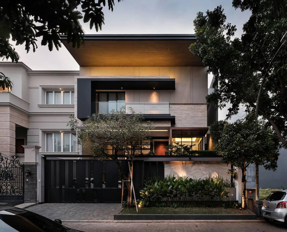 Các mẫu nhà đẹp 2 tầng hiện đại 29