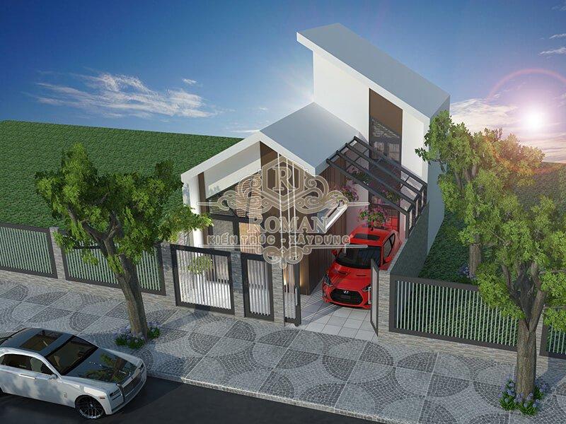 mẫu nhà 2 tầng đẹp độc đáo tiết kiệm chi phí