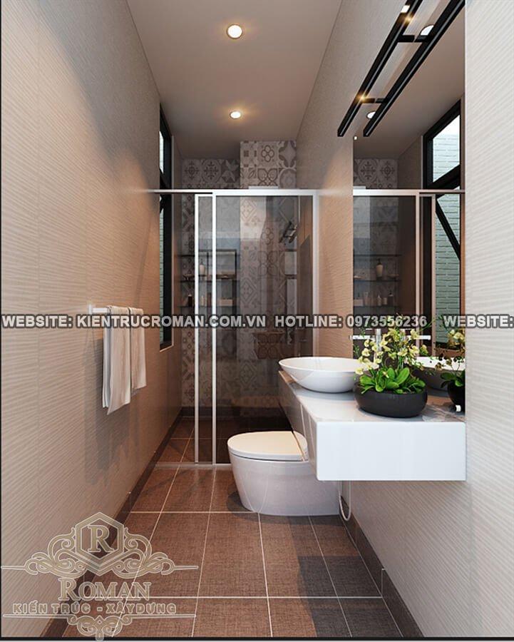 phòng tắm mẫu nhà 2 tầng đơn giản mà đẹp