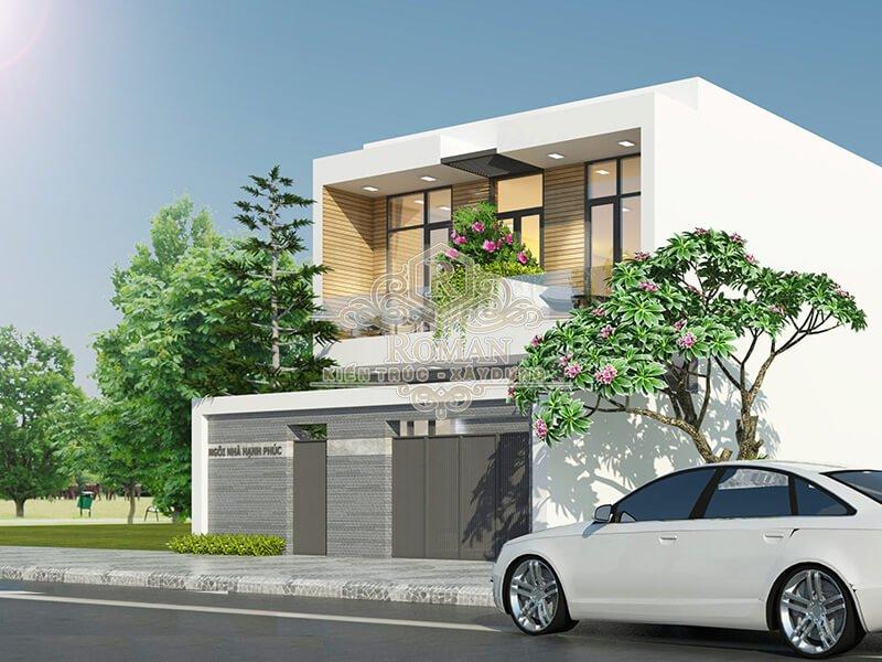 mẫu nhà 2 tầng đơn giản mà đẹp tại quận 12