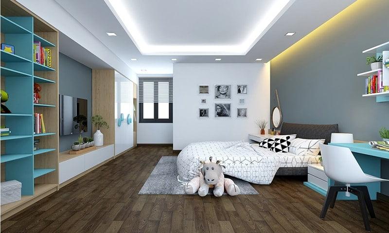 mẫu nhà đẹp 2 tầng hiện đại 9