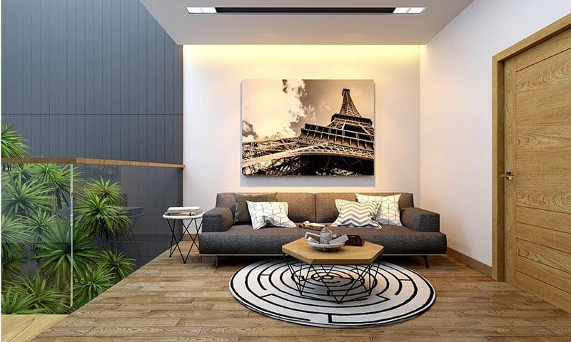 mẫu nhà đẹp 2 tầng hiện đại 13