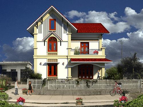 Top 20 mẫu nhà 2 tầng mái ngói hiện đại đẹp không tỳ vết